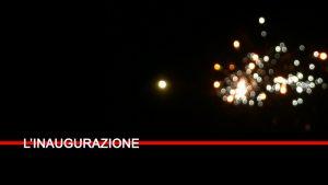 """OPENING INSTALLAZIONE DI LUMINARIE """"ORDINE NUOVO"""" E PERFORMANCE """"IAILAT"""""""